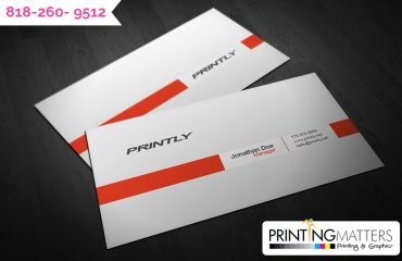 professional business card printing services in Burbank