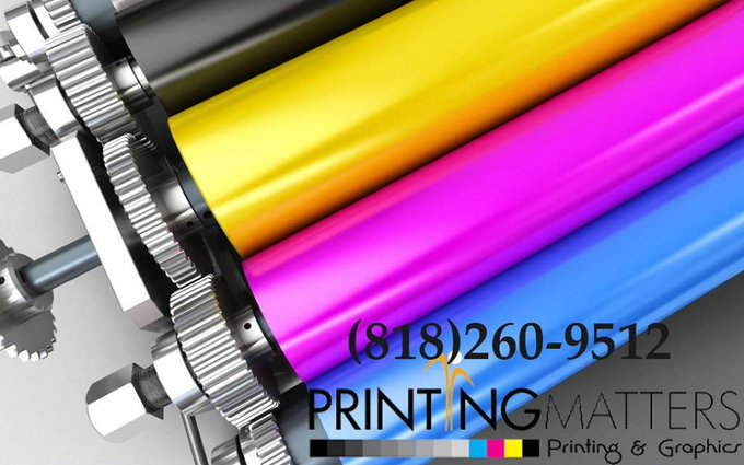 full color printing services in Burbank